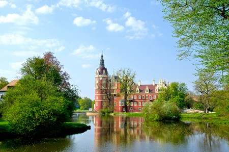 Fürst-Pückler-Schloss in Bad Muskau